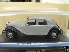 CITROEN  TRACTION 22 BERLINE DE 1934 AU 1/43ème