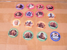 STAR WARS TACO BELL KFC POGS SET of 16 with INSTANT WINNER