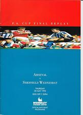 FA Cup Final 1993 Replay Arsenal -v- Sheffield Wednesday
