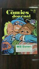 Comics Journal Volume 1 Issue 89 1984 First Cameo Teenage Mutant Ninja Turtles