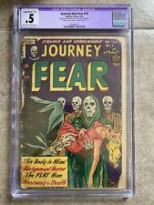 Journey Into Fear #19 CGC Superior Comics 1954 COMPLETE! Pre-Code Horror PCH
