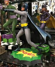 BATMAN 1966 PREMIUM COLLECTION BATMAN TV SHOW ADAM WEST STATUE NEW