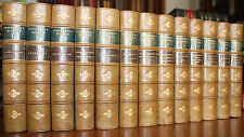 1894 The Works of William Makepeace Thackeray 13 Volumes Half Leather Complete