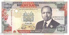 Kenya 100 Shilingi 1991 Unc pn 27c