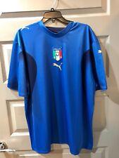 2007 Puma Italy Home Jersey XL