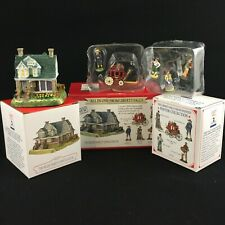 1998 Liberty Falls Miller Family House 5 Pewter Accessories Americana Collection