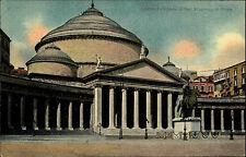 Neapel Napoli Italien Italia Kampanien ~1910 San Francesco di Paola Kirche Dom