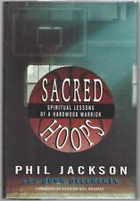 """Sacred Hoops"", by Phil Jackson, Signed First Edition/First Printing, 1995"