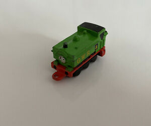 Miniature RARE Vintage Metal Duck Small Train On Rollers Thomas The Tank Engine
