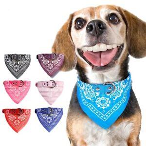Dog Bandana Collar Kitten Pet Puppy Cat  scarf Adjustable Neckerchief