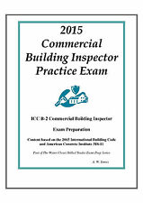 2015 ICC Commercial Building Inspector Practice Exam on USB Flash Drive