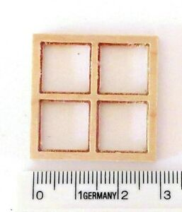 bloxxs F-051 Spur1 Holz Fenster Modellbau Diorama Haus Modelleisenbahn 1:32 NEU