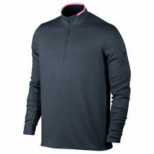 New listing NEW Nike Dry Half-Zip Golf Tennis Pullover MEDIUM Gray Pink 833282 471