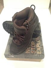 North Face Storm Mid WP Leather Boot. Men's 8.5. New W/box. $120 Retail.