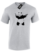 ba67e84876f BANKSY PANDA MENS T SHIRT URBAN STREET ARTIST GRAFFITI S-5XL FUNNY FASHION  NEW