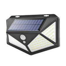 100LED Solar PIR Motion Sensor Wall Light Waterproof Garden Yard Security Lamps