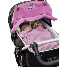 Universal Baby Portabebés Silla Auto Buggy Cochecito Parasol dosel Sombrilla Rosa