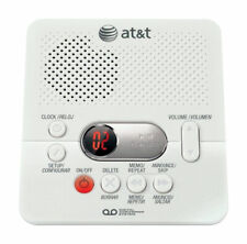 AT&T Digital White Answering System Built In Answering Machine