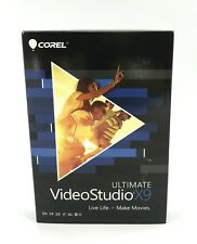 Corel VideoStudio Ultimate X9, 64 Bit, Ultra HD 4K, Model VSPRX9ULMLMBAM #7681