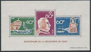 POLYNESIE - BF N° 1 // 1 bloc feuillet Neuf** // 1968