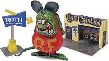 Revell Inc [RMX] 1:25 Rat Fink with Diorama Plastic Model Kit RMX856732