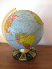 New ListingVintage Zodiac Ohio Art Company Metal Globe