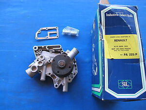 Water Pump Saleri For: Renault: R5 TL 1.0 And 1.3, R6 L And TL