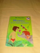 """DISNEY MICKEY CLUB DU LIVRE """"Mowgli et le bébé éléphant"""""""