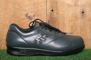SAS 'Free Time' Blue Leather Oxfords Comfort Walking Shoes Women's Sz. 6M