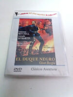"DVD ""EL DUQUE NEGRO"" COMO NUEVO PINO MERCANTI CAMERON MITCHELL CONRADO SANMARTIN"