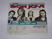 Bon Jovi  - Vintage VIP Ticket Wembley Stadium London 23 June 1995 NICE
