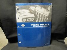 Genuine OEM 2013 Harley Police Parts Manual / Catalog 99545-16