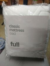 Classic mattress pad full size 54-in x 75 in New still in package