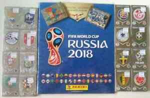 FIFA WORLD CUP 2018 Russia Panini Complete Stickers Set + HardCover Album