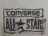 NEW WOMEN'S CONVERSE ALL STAR  V-NECK GRAPHIC T-SHIRT SIZE US M/L/XL/2XL  09882C