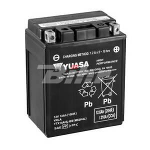 Batería Yuasa YTX14AHL-BS Combipack (con electrolito)
