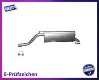 Endschalldämpfer Opel Corsa D 1.4 16V 64/66/74KW Auspuff Endtopf Schelle
