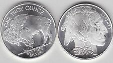 2010 USA BUFFALO ONE OUNCE 0.999 SILVER IN NEAR MINT CONDITION