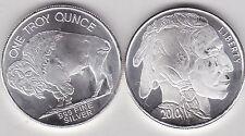2010 USA Buffalo un grammo ARGENTO 0.999 in NEAR MINT CONDITION
