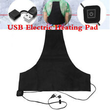 Motorcycle USB Jacket Coat Heater Liner Heating Vest Pad Thermal Warm Winter Kit