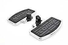 05-08 Honda VTX1800 Cobra Classic Rear Chrome Floorboard Kit  06-3665