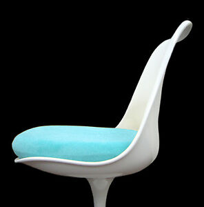 Slip On Cushion Cover for Saarinen or Burke Tulip Chair - Your Choice of Color