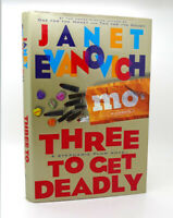 Janet Evanovich THREE TO GET DEADLY  1st Edition 1st Printing