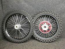 Honda CRF250 14-16 CRF450 13-16 Talon noir/Argenté carbone roues ensemble CR3068