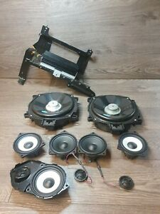 BMW X5 E70 Hi-Fi Audio Speakers And Amplifier With Brackets HIFI SET