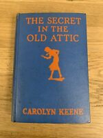 Carolyn Keene / The Secret in The Old Attic First Edition 1944 #1805006 Vintage