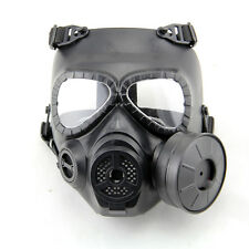 Dummy Gas Mask M04 with Fan for Airsoft Paintbal Cosplay Protection Gear