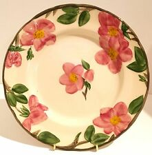 Franciscan Desert Rose 50th Anniversary Plate , Hand Decorated, Special Edition