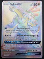 Carte Pokemon PALKIA 165/156 GX Full Art RAINBOW Soleil et Lune 5 SL5 FR