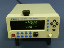 Exfo Lts-3900 Fiber-Optic Loss Test Set, 1310/1550nm, Orl Return Loss Option